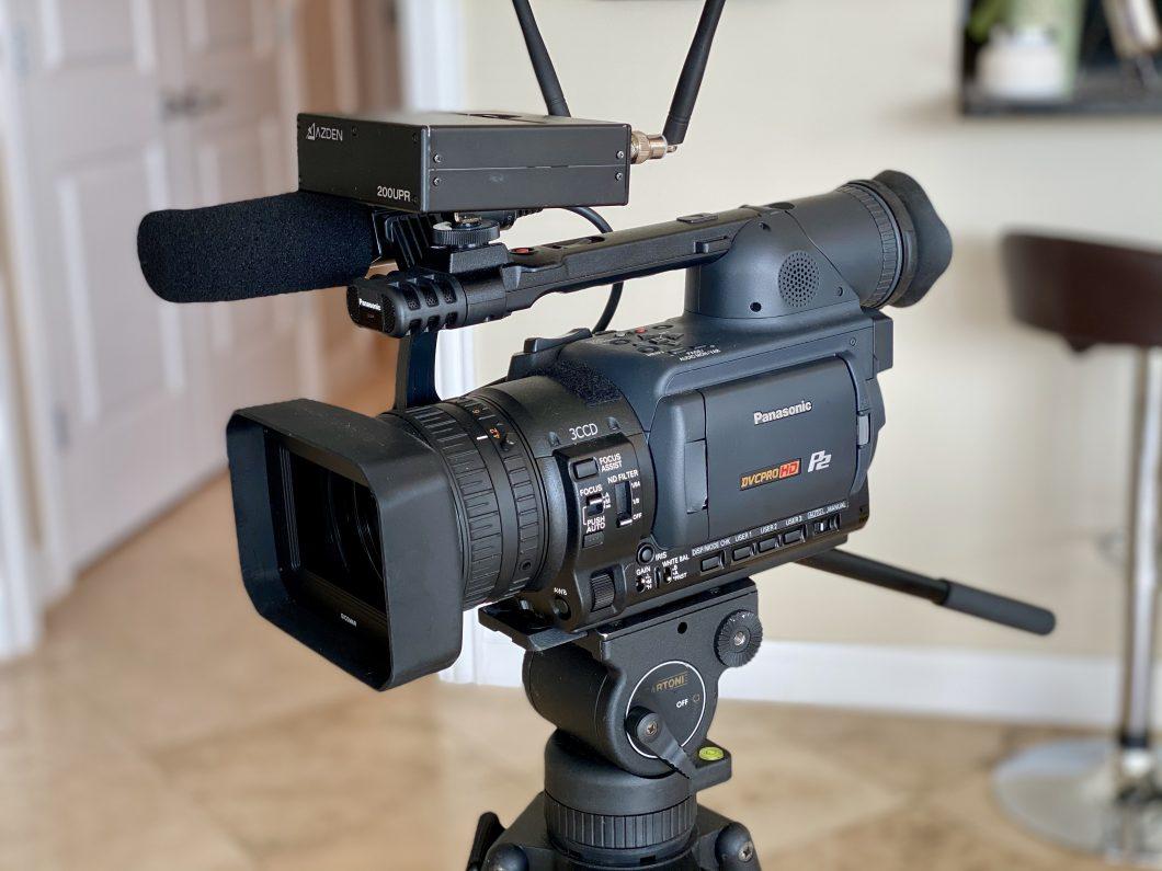 Old Panasonic Camera