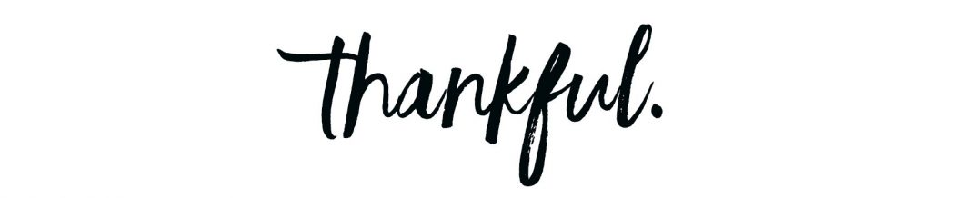 Good to be thankful