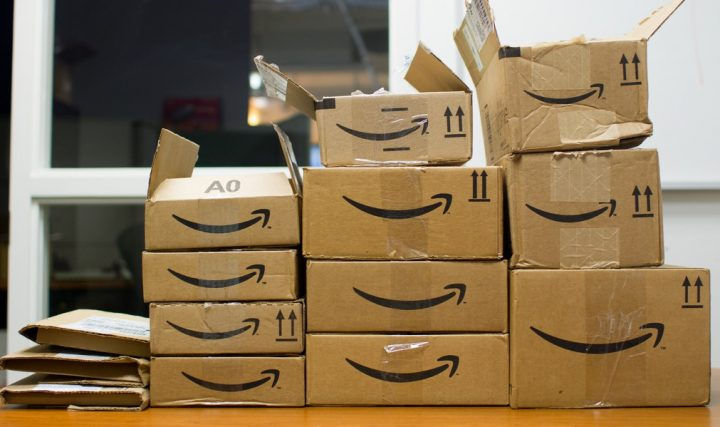 How many Amazon packages do you get?